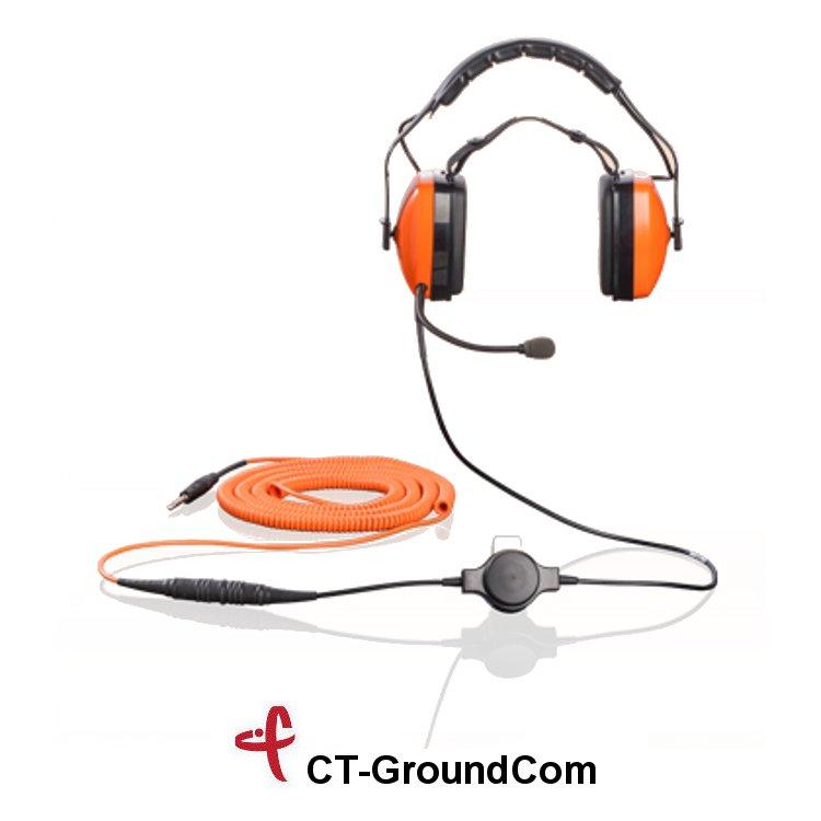 GroundCom cuffia per operatori aeroportuali - pilot check