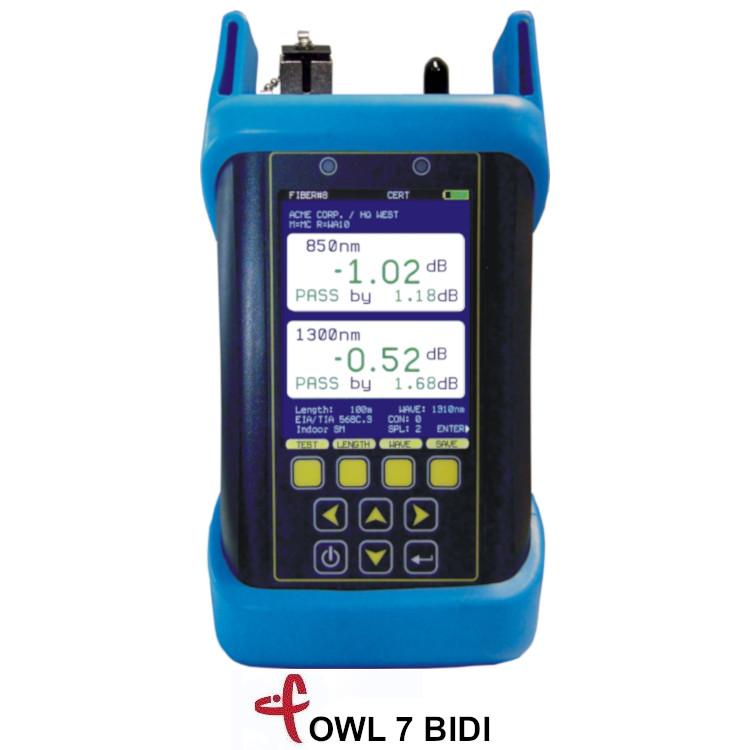 OWL7 Certificatore fibra ottica